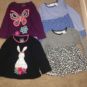 Toddler girl 4PC Bundle First Impressions Play 24M